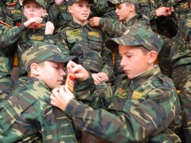 Вручены кадетские погоны